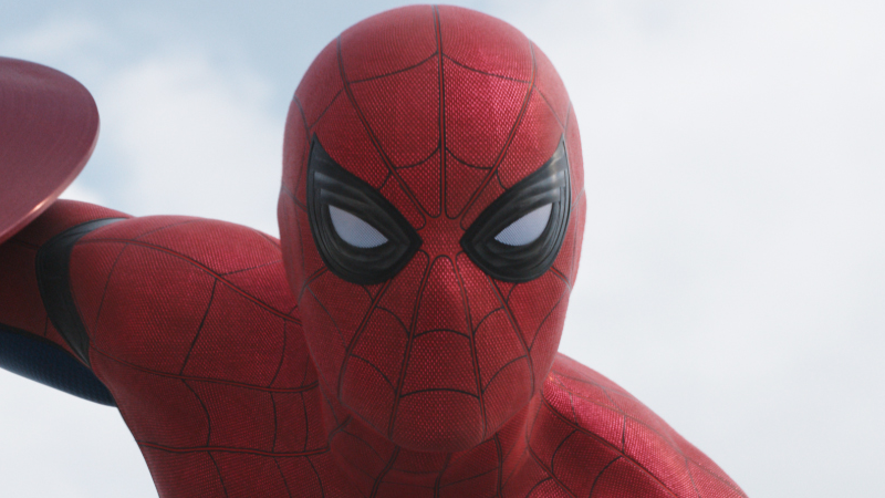 Here's Our Best Look at Spider-Man's Fabulous New Costume