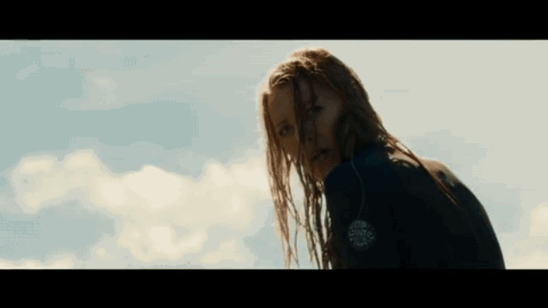 A Great White Shark Menaces a Terrified Blake Lively in The Shallows Trailer