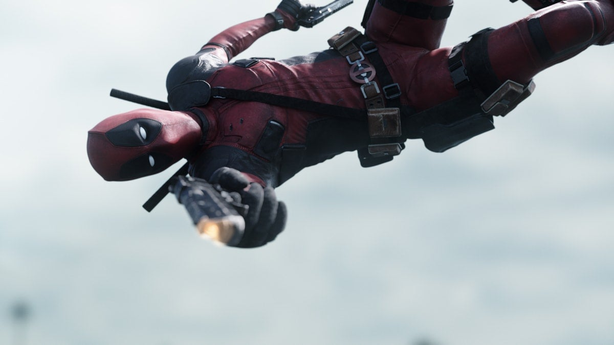 Check Out These Wonderful Before and After Deadpool Visual Effects Images