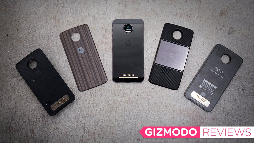 Moto Z Droid Review: Too Much Gadget, Not Enough Phone ...