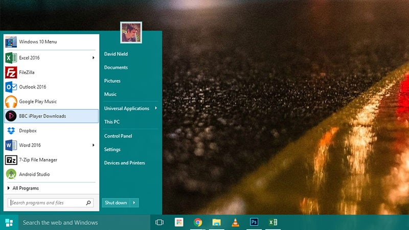 Bring Back the Classic Start Menu in Windows 10
