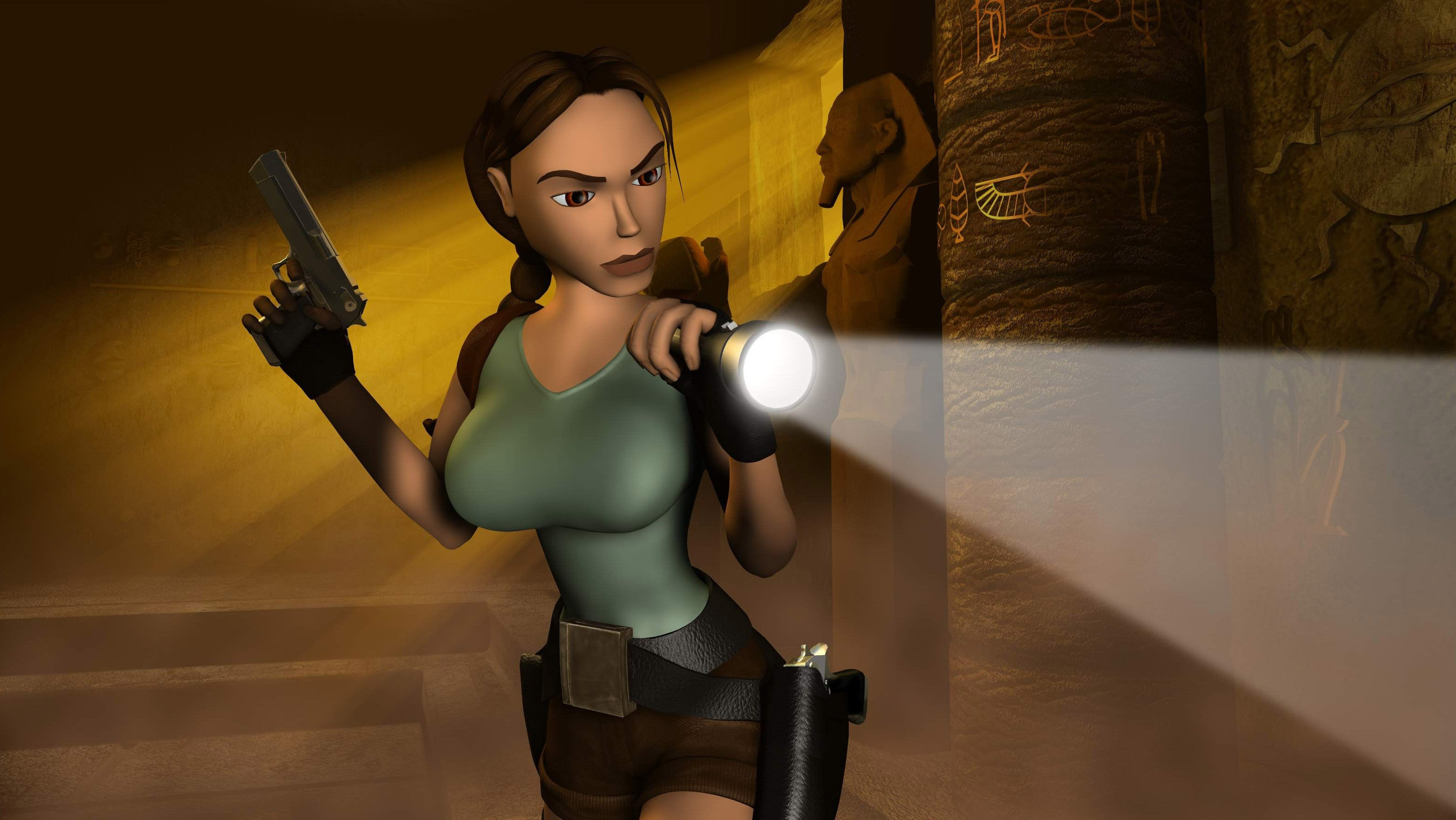 lara croft contest date from 1999 inspires hilarious fan