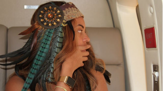There Is A Secret Gold Link Apple Watch, And BeyoncéHas It