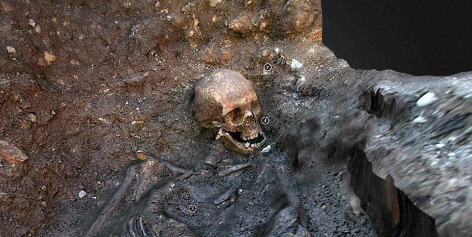 Take a 3D Tour of Richard III's Grave