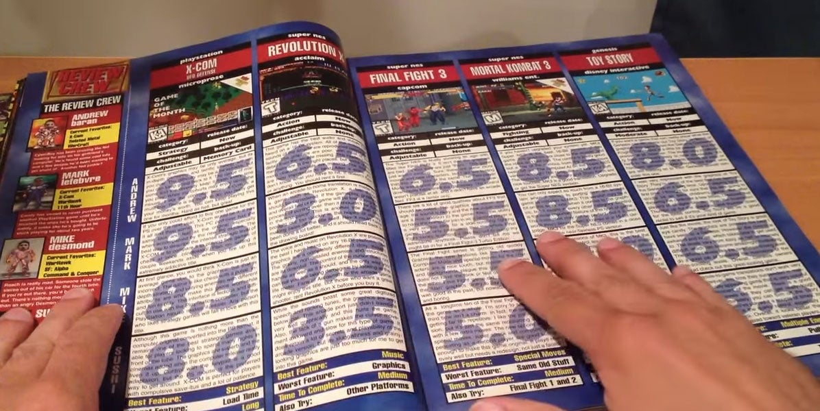 Relive The 'Glory' Days Of 90s Game Magazines