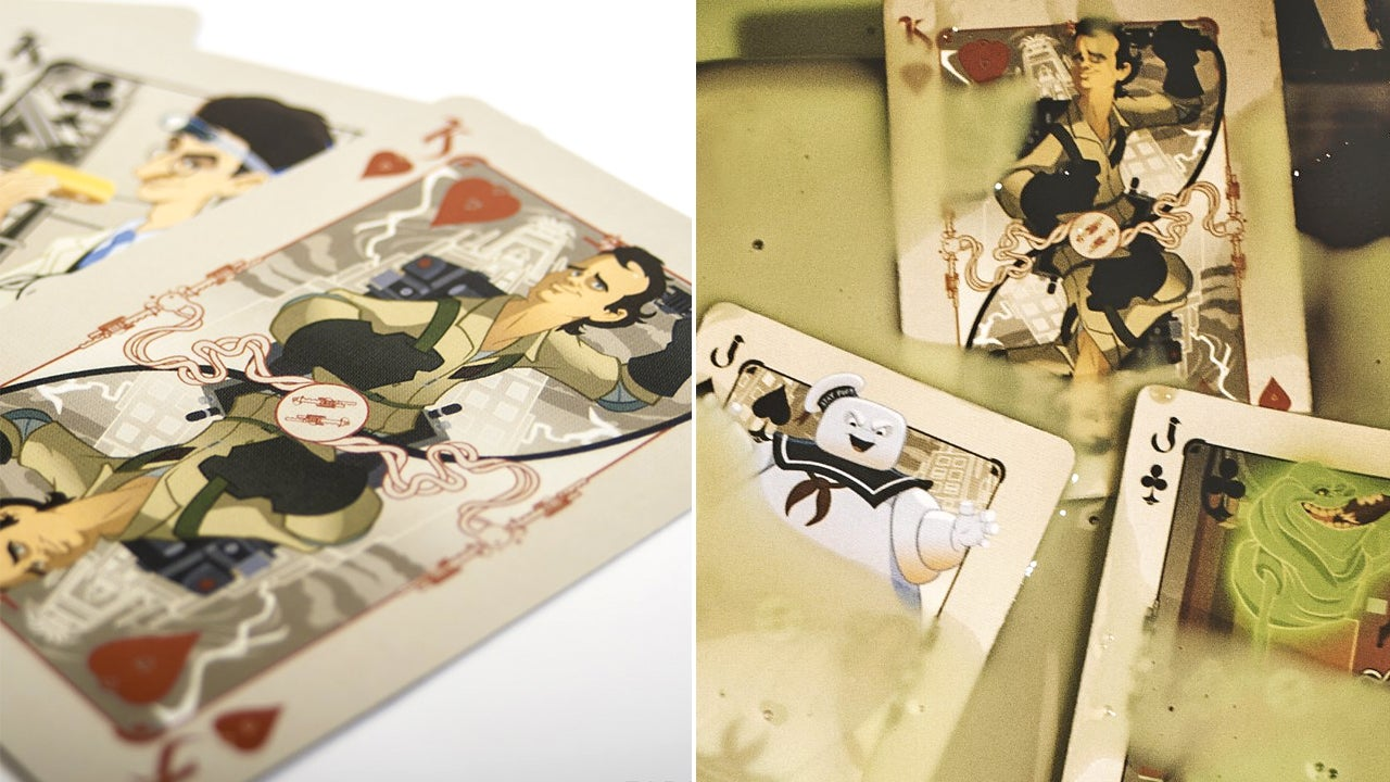 The Artwork On These Ghostbusters Playing Cards Is Fantastic