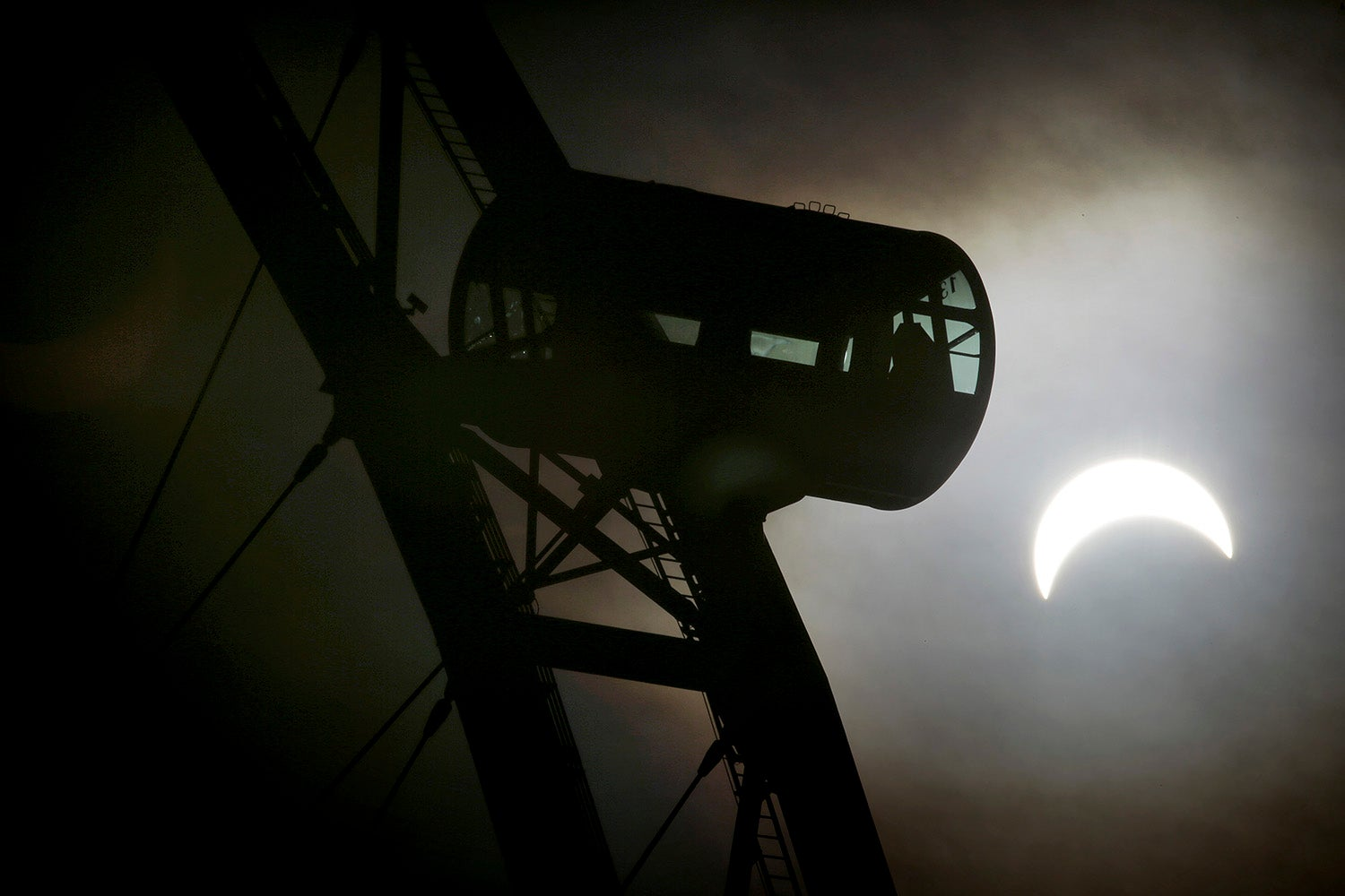 Last Night's Solar Eclipse Looks Stunning in These Captivating Images