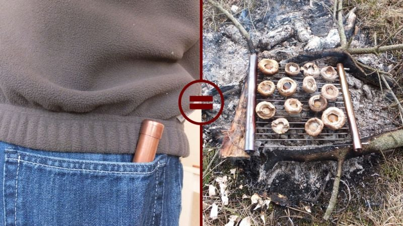 Make Your Own Pocket Grill for Camping or Backpacking