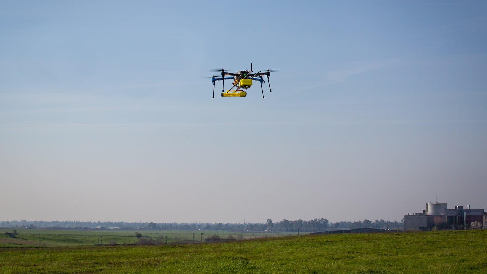 NASA Is Setting a Gas-Sniffing Drone to Work On Earth