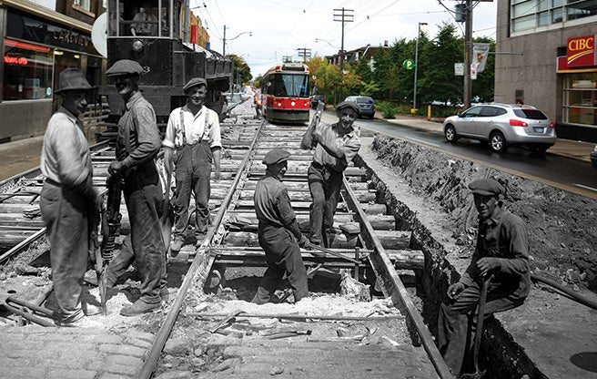 These Time-Warp Photos Show Six Cities In The Past And ... Pictures From The Past