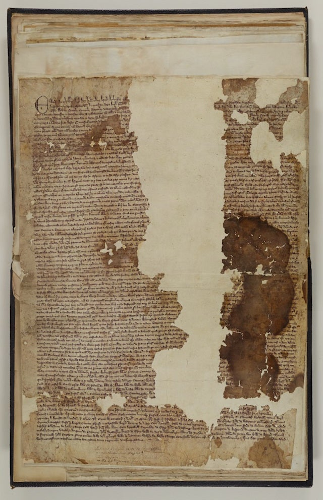 Original Copy of the Magna Carta Found in Forgotten Old Scrapbook