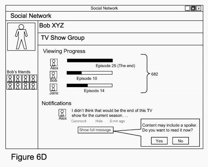A Google Patent May Soon Make Social Media Spoiler Free