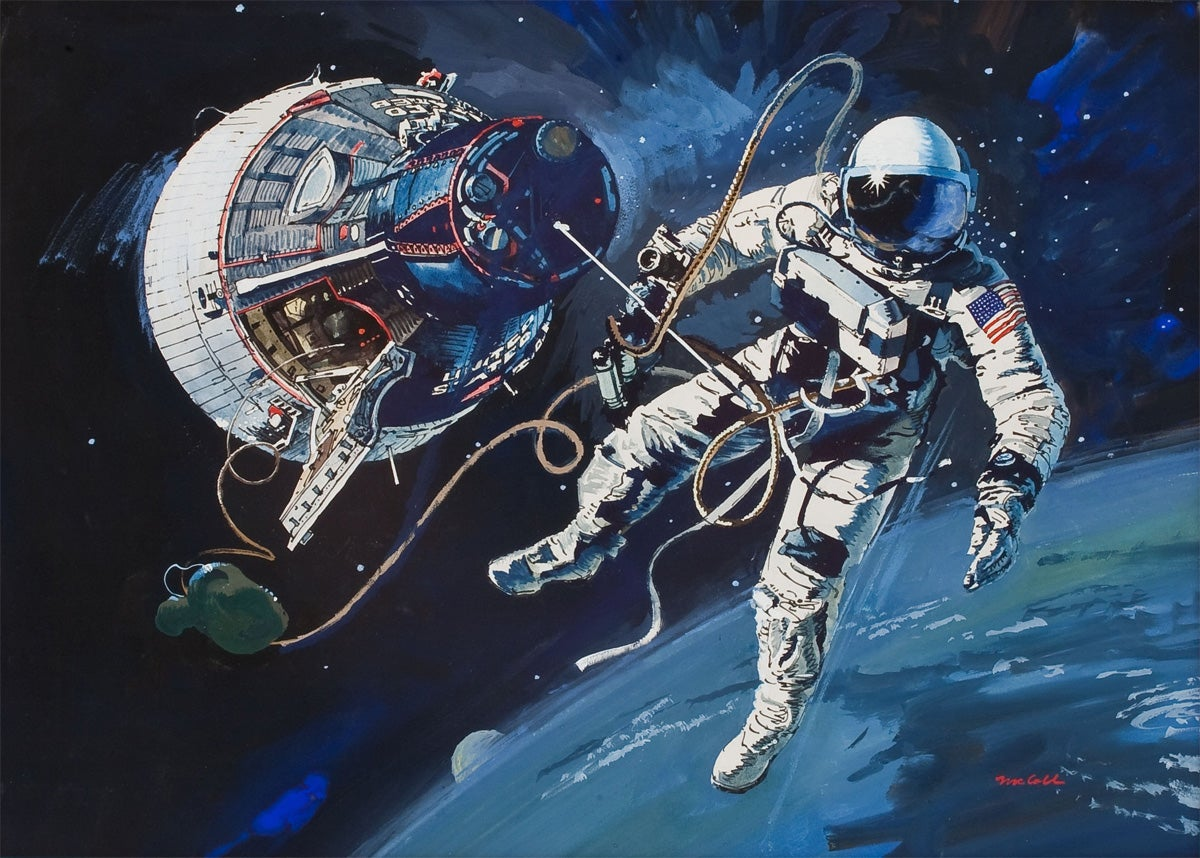 Space Station Images Paint Sci Fi