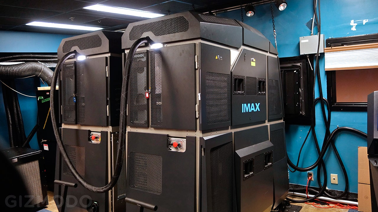 IMAX's New Laser Projectors Make Me Wish I Lived In a Movie Theatre