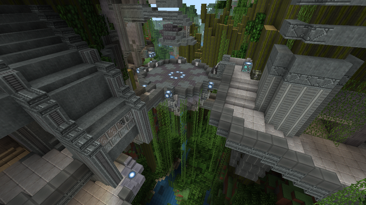The Minecraft Halo Mash Up Pack Visits Familiar Places