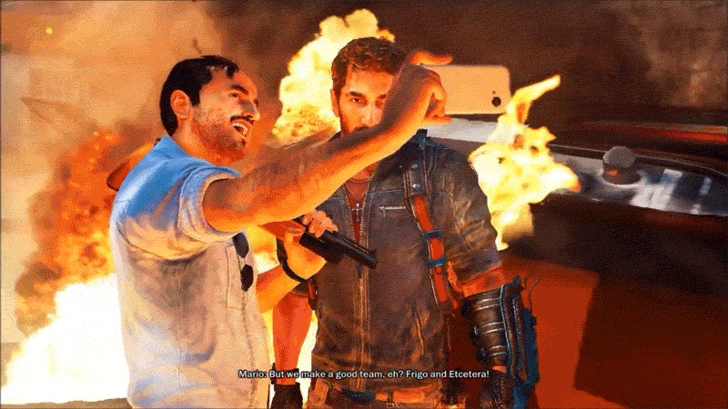 Your Selfie Game Is Too Strong, Just Cause 3