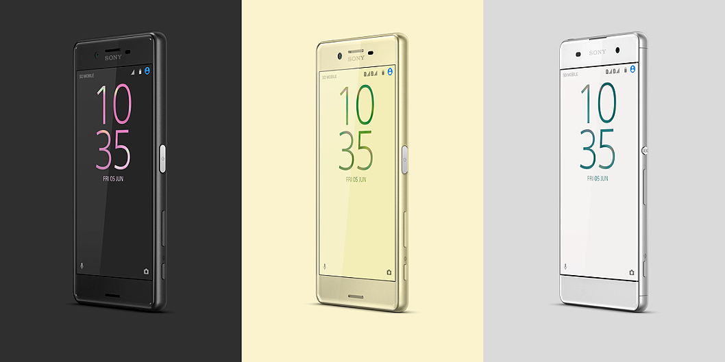 Sony's Xperia X Range Has a Phone For Every Pocket