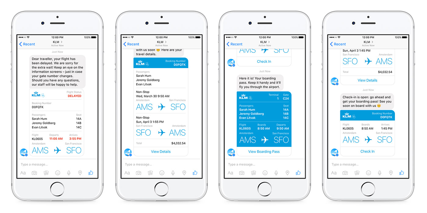 You Can Now Manage Flights With A Facebook Messenger Bot