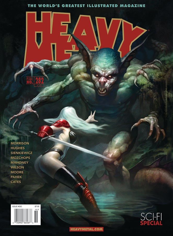 Grant Morrison Talks About Running Heavy Metal, the Classic Scifi Magazine That Used to Let Him Down