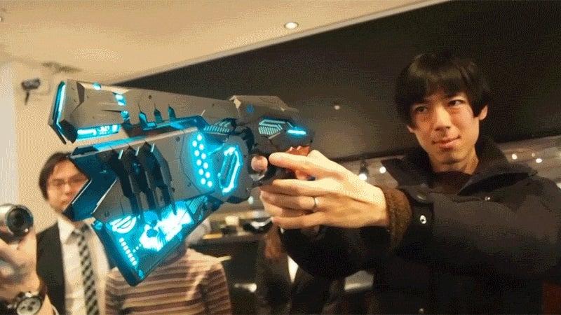 Damn, This Anime Gun Model Is Amazing