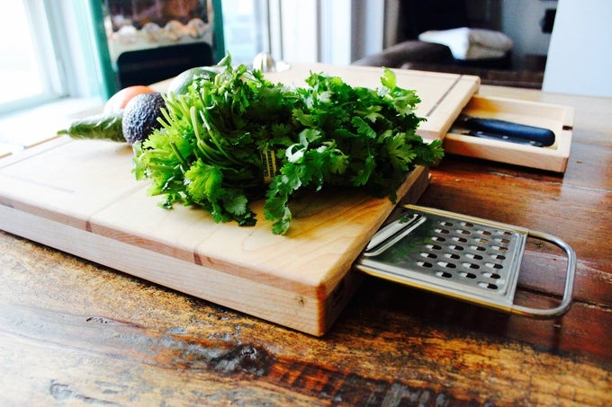 For Some Reason I Want This Impossibly Complicated Cutting Board