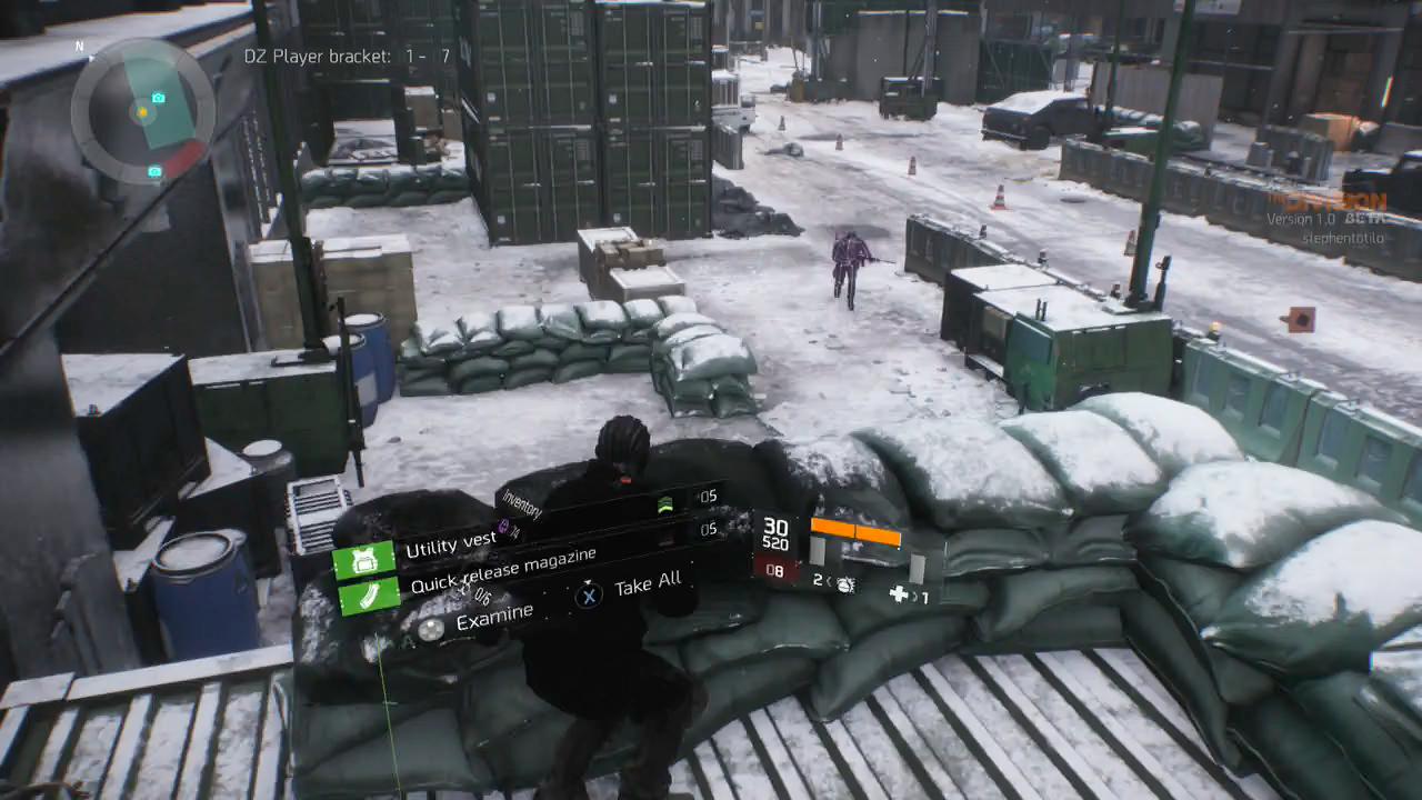 The Division Is At Its Best When You're Stabbing People In The Back