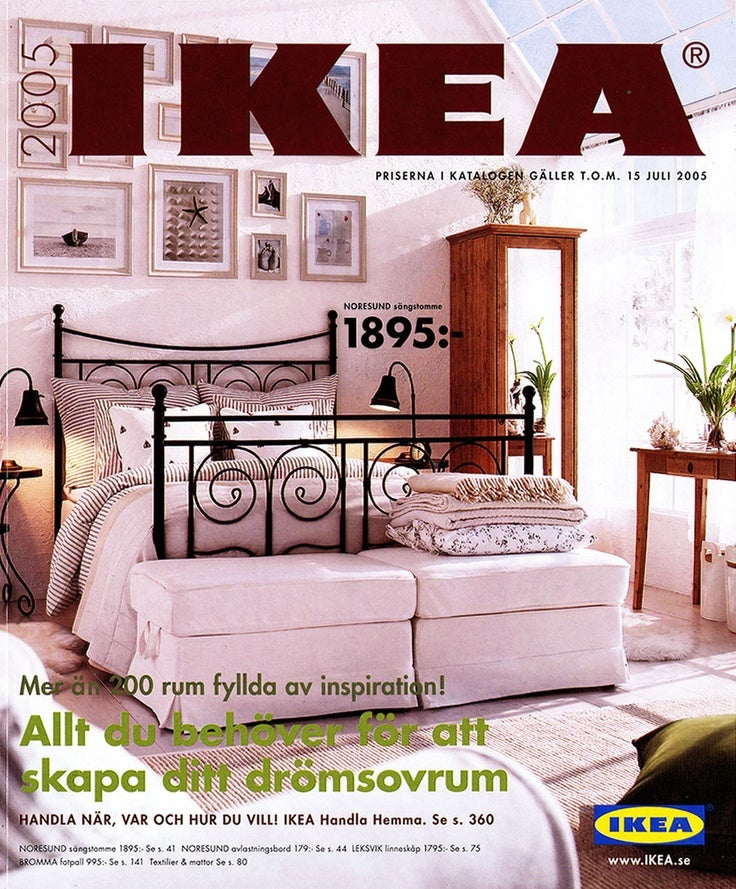 every ikea catalogue cover since 1951 gizmodo australia. Black Bedroom Furniture Sets. Home Design Ideas