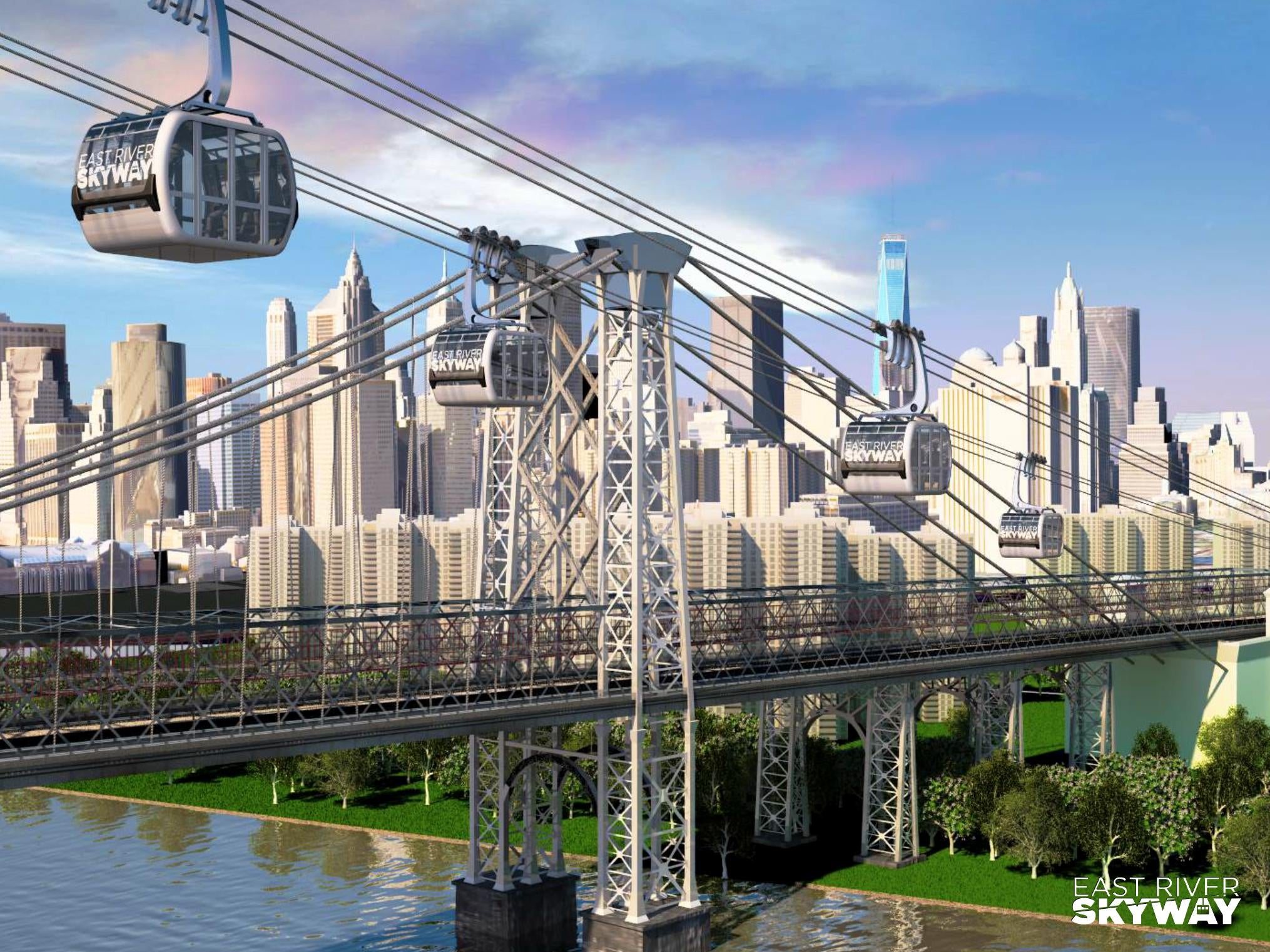 NYC Needs to Build This Gondola Between Brooklyn and Manhattan