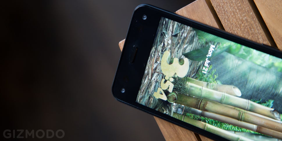 Amazon Fire Phone Review: A Shaky First Step