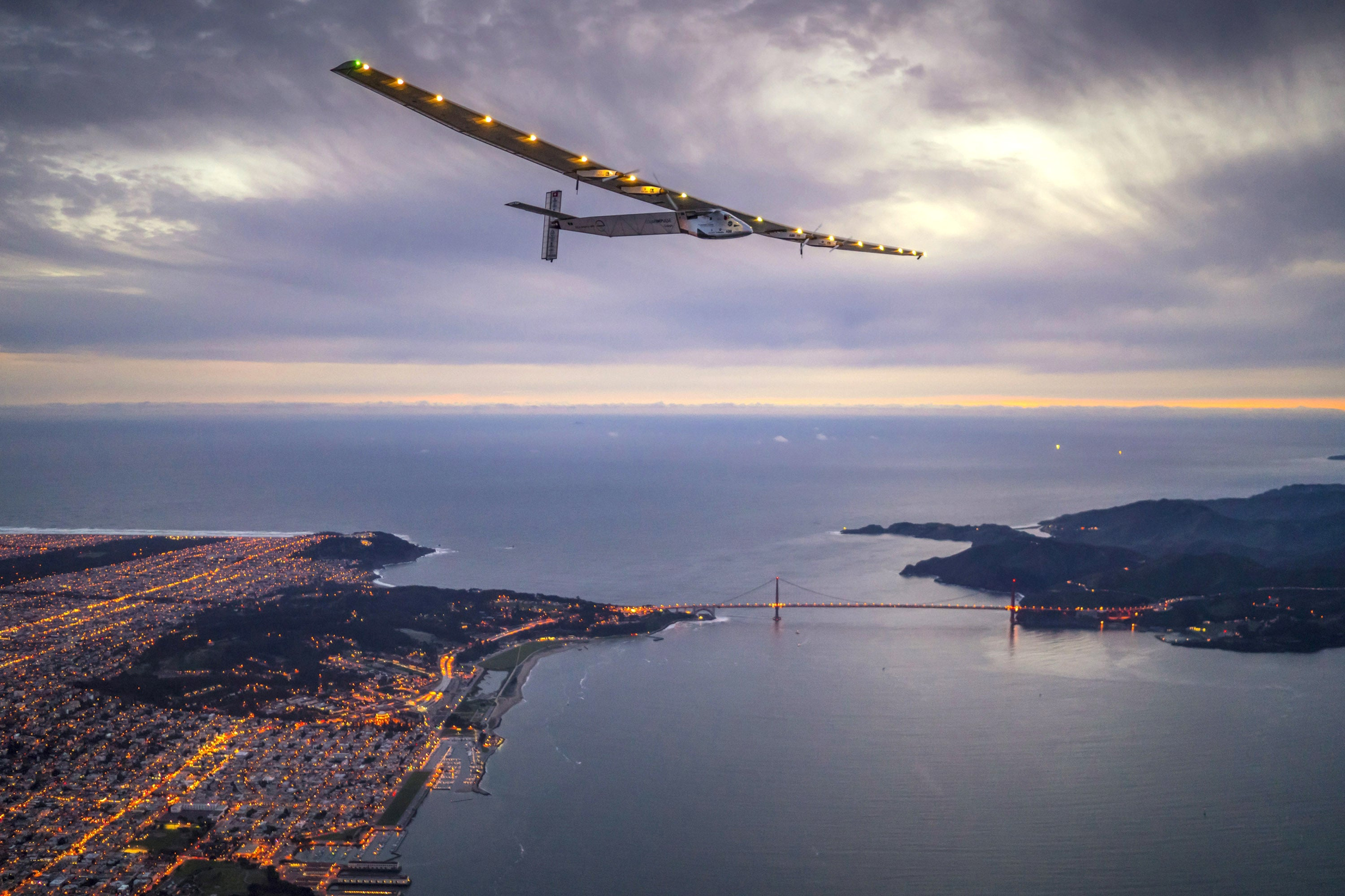 Solar Impulse 2 Successfully Landed in California After 62 Hours in the Air