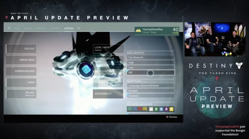 Destiny Is Getting A Bunch Of Cool New Gear In April