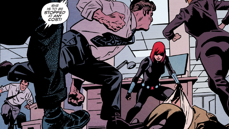 Black Widow's New Comic Begins With an Incredible Love Letter to Captain America: Winter Soldier