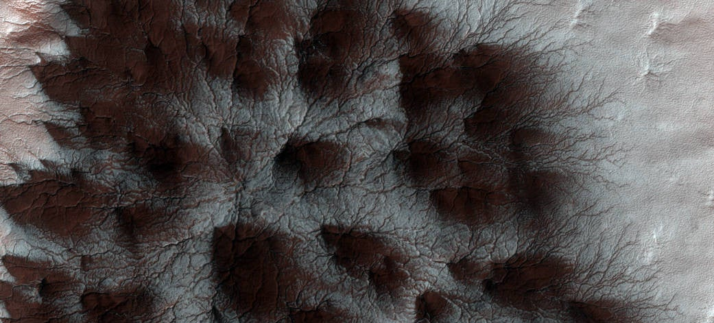 These Are NASA's 'Spiders' on Mars