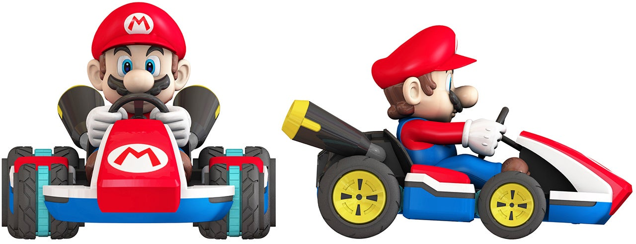 An RC Mario Kart With Wheels That Actually Convert To Hover Mode