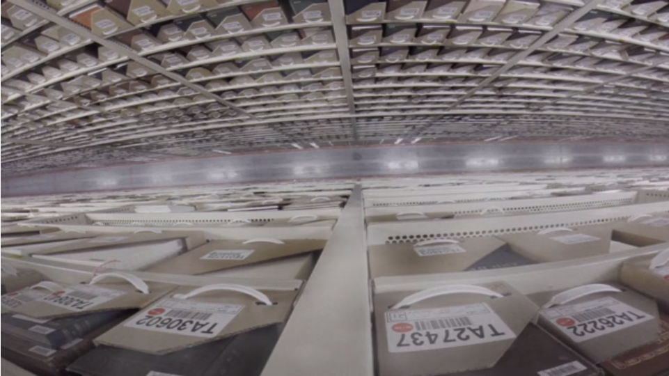 A Glimpse Inside the Hidden Vault Where Harvard Keeps Millions of Books