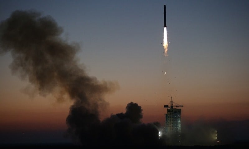 China's Dark Matter Satellite Sends Back First Data