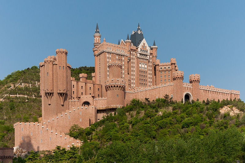 Soon You Can Sleep in This Fake Bavarian Castle in the Middle of China