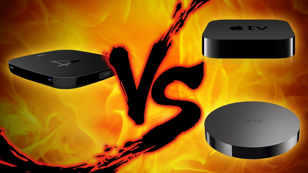 Set Top Box Showdown: Apple TV vs. Nexus Player vs. Roku 4