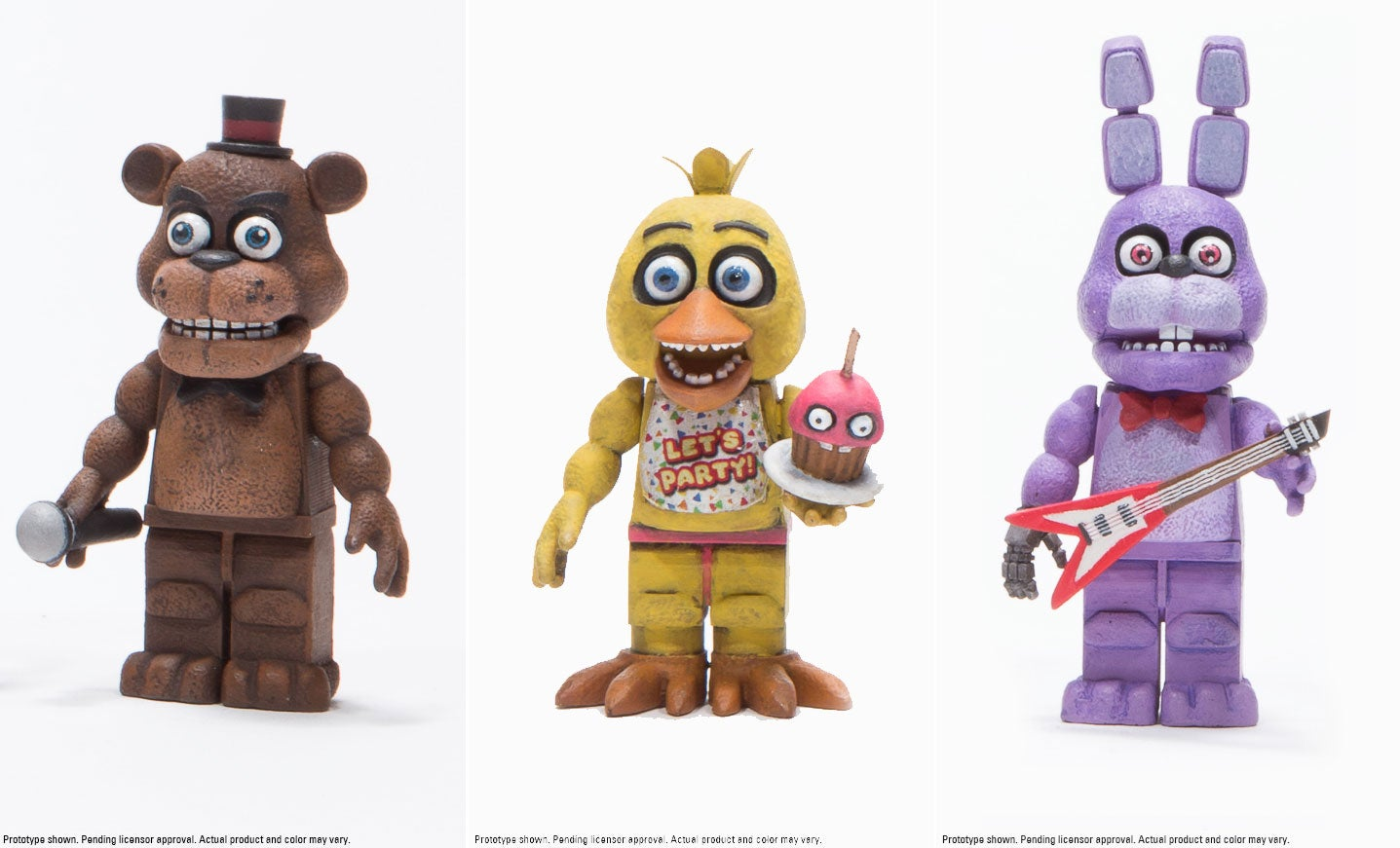 five nights at freddys building sets coming from exactly