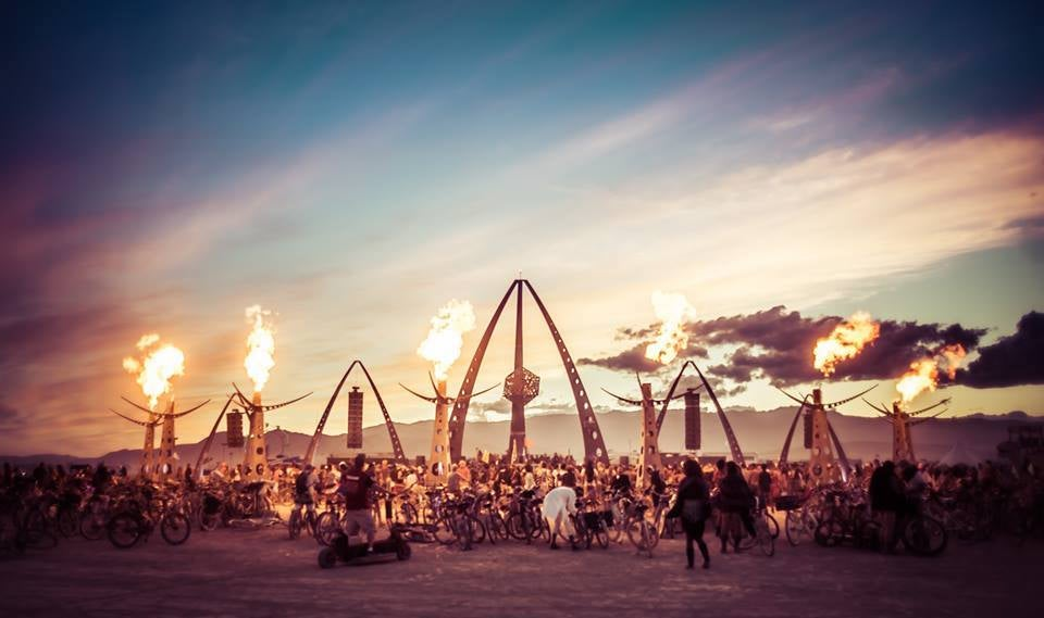 Fancy Burning Man Camp Ransacked By Vandals