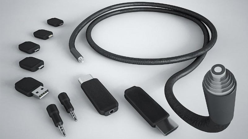 A Single Cable With Swappable Connectors Wants To Replace All Your Wires
