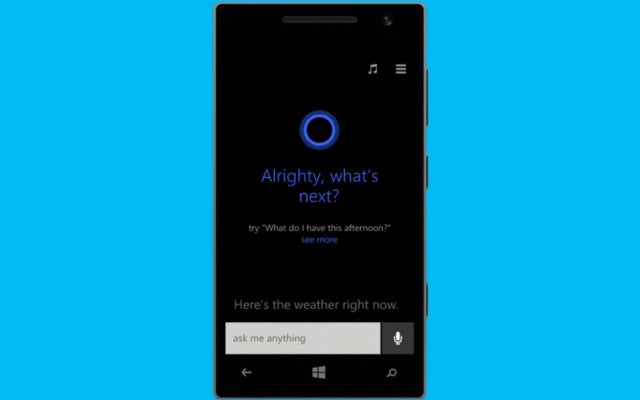 Windows 9 Might Have Cortana Built Right In