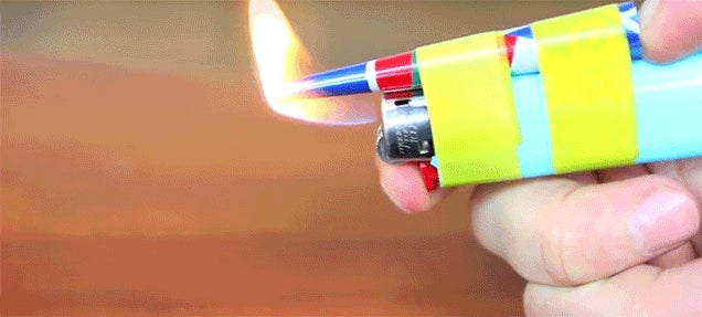 How to Make a Hot Glue Gun with a Soda Can and a Lighter