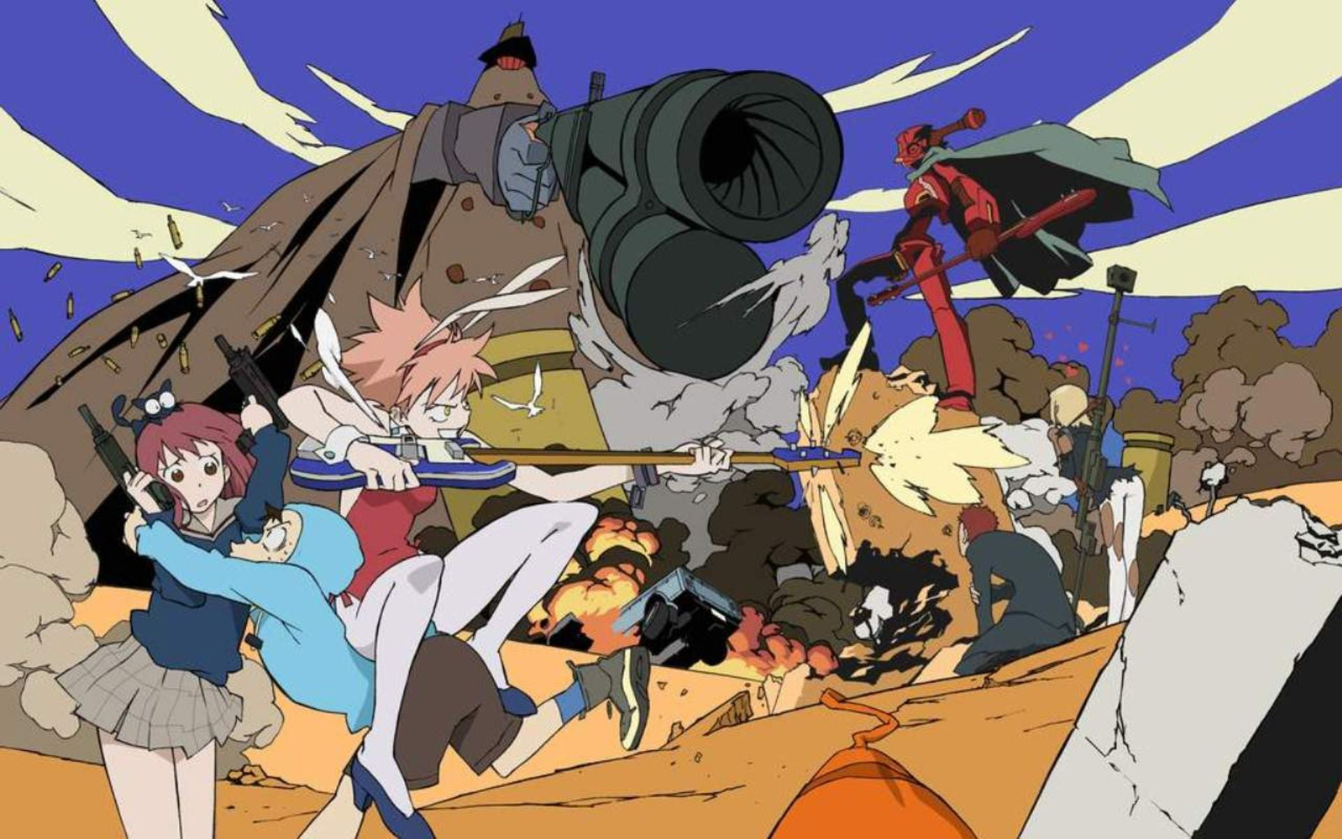 Adult Swim Is Making a Sequel to FLCL, the Coolest Anime Ever