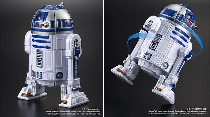 Putting This Rubik's Cube R2-D2 Back Together Is Harder Than Fixing a Real Droid