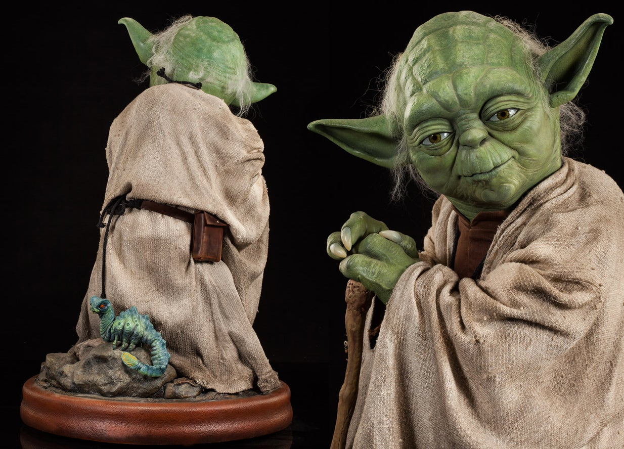 A Jedi Master Would Surely Approve of Spending $US2,500 ($3,331) on This Life-Size Yoda