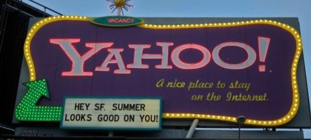 Yahoo Very Quietly Kills Off Yahoo