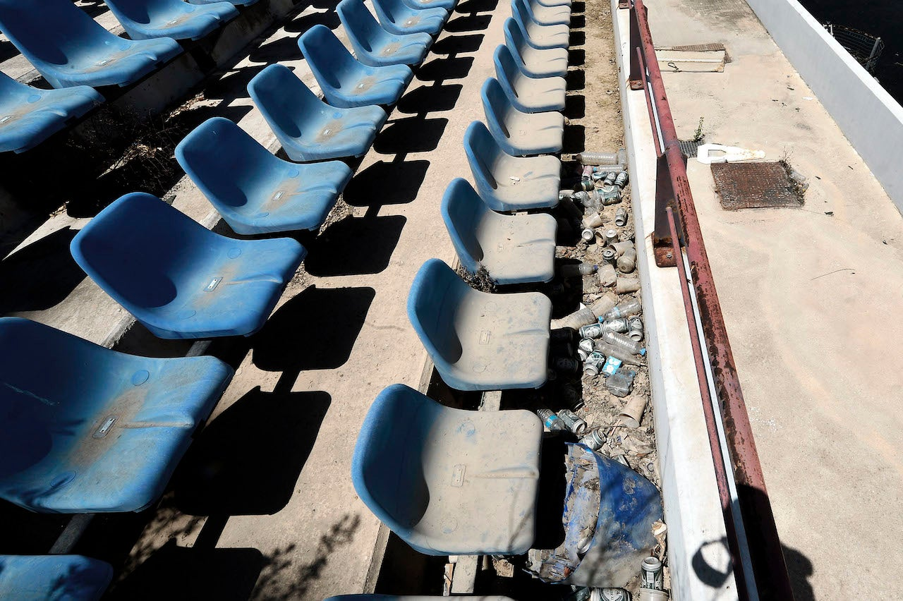 The Desolate State of Athens Olympic Venues 10 Years Later