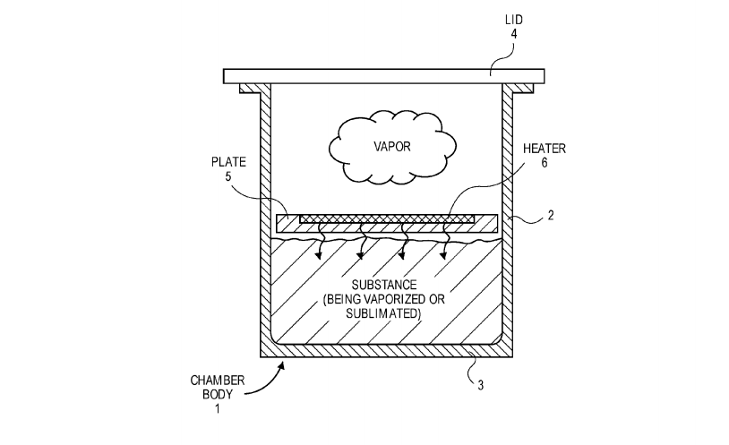 Apple has patented a vaporizer