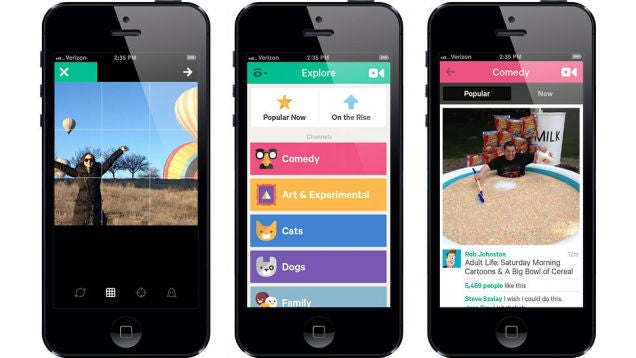 Vine Now Lets You Upload Old Videos From Your Camera Roll